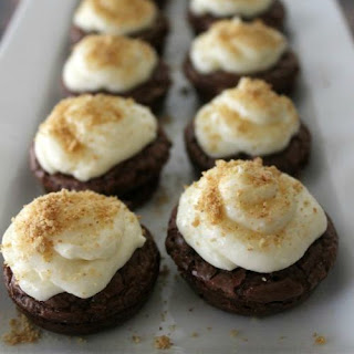 Mini S'mores Brownie Bites & Poppers