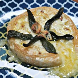Garlic Baked Brie.