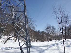 1184mピークの鉄塔