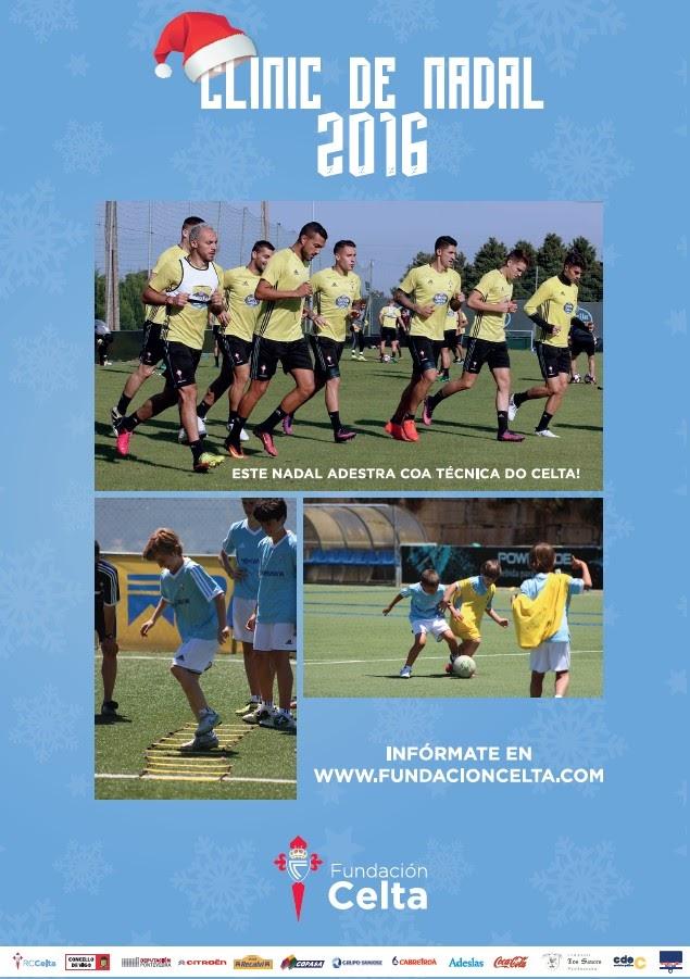 """ADR Numancia de Ares. Fundación Real Club Celta de Vigo """"Clinic Nadal 2016"""""""