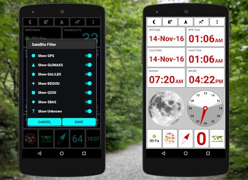 Screenshot for GPS Test Plus Navigation in Hong Kong Play Store