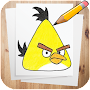 How to Draw Angry Birds Characters APK icon