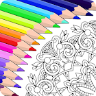 Colorfy: 大人のための塗り絵ゲーム - 無料曼荼羅アート icon