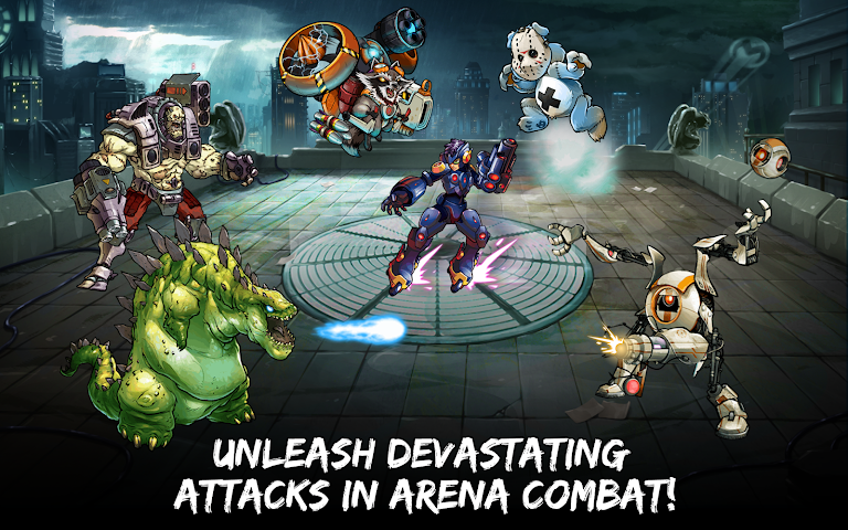 android Mutants: Genetic Gladiators Screenshot 1