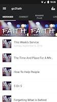 Screenshot of Faith App