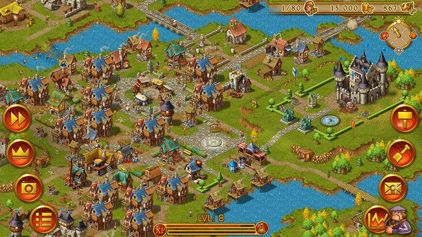 Townsmen- screenshot