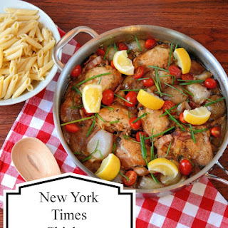 New York Times Chicken with Shallots