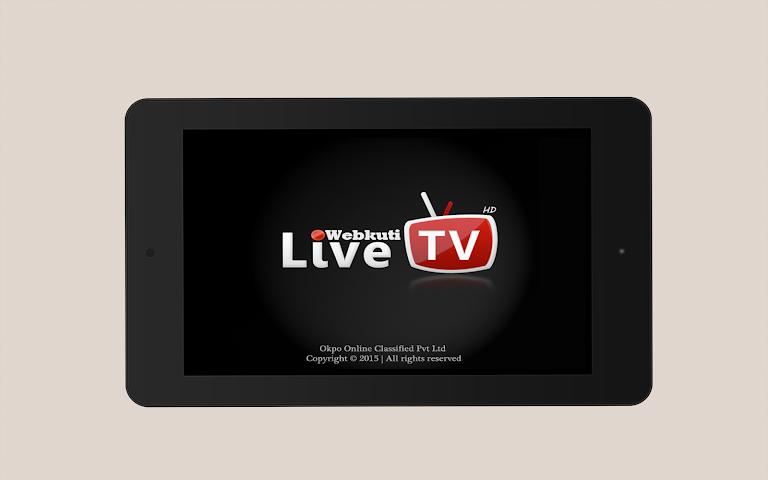 android WEBKUTI LIVE TV: MOBILE TV,  TV Screenshot 2