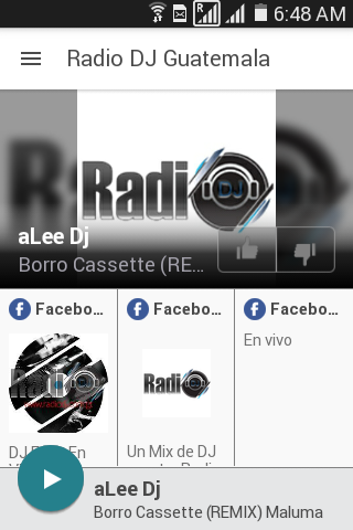 Radio DJ Guatemala- screenshot