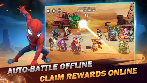 Télécharger Superhero Wars: Epic Idle RPG - Legend Battle APK MOD 2