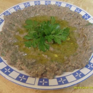 Middle Eastern Eggplant Dip- Baba Ganoush