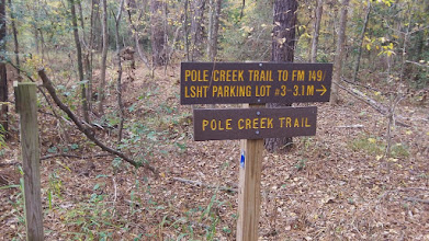 Photo: Turn off for Pole Creek Trail