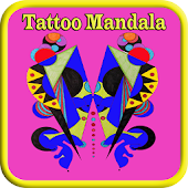 Tattoo Mandala Colouring Book