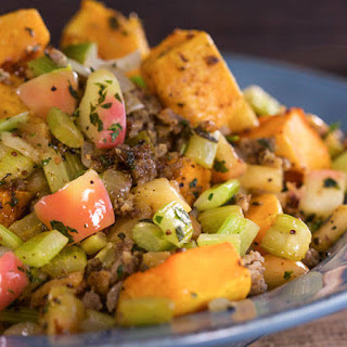 Breadless Butternut Stuffing