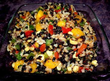 Ebony, Ivory, & Bronze Friendship Salad Recipe