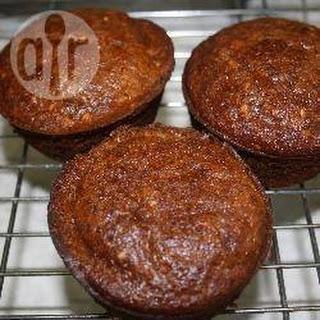 Gluten Free Dairy Free Banana Bread Muffins.