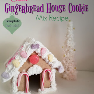 Gingerbread House Cookie Mix