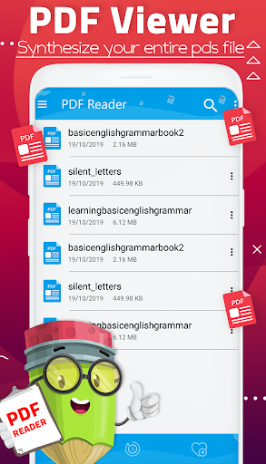 Smart PDF Reader for Android 2020 screenshots 1