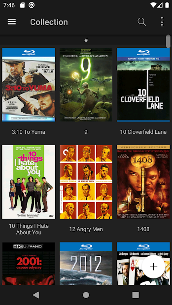 My Movies 3 Pro - Movie & TV Collection Library Android App Screenshot
