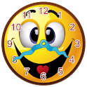 Smiley Face Clock Widget icon