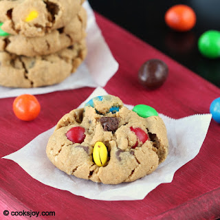 Soft Monster Cookies.