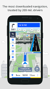 Most Reliable GPS App : Sygic 1