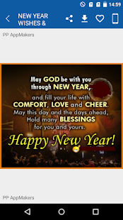 New Year Wishes & Images - náhled