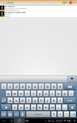 ePub Reader for Android 2.1.2 screenshots 9
