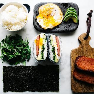 Spam and Egg Onigirazu.