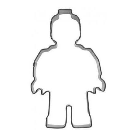 Kakform - Leksaksgubbe / Robot, 10 cm