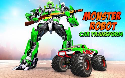 Download monster robot car transform: robot shooting war For PC Windows and Mac apk screenshot 11