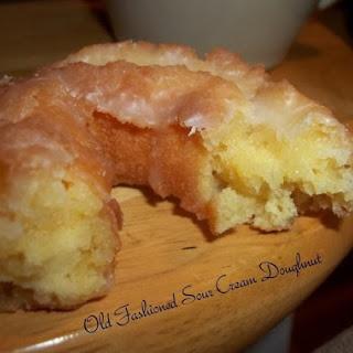 Old Fashioned Sour Cream Doughnuts.