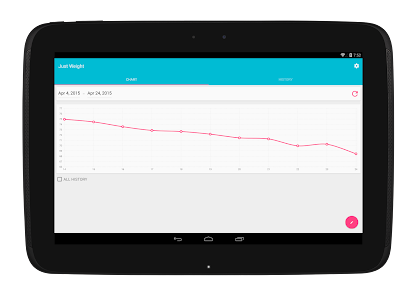Just Weight. Track Your Weight v1.02