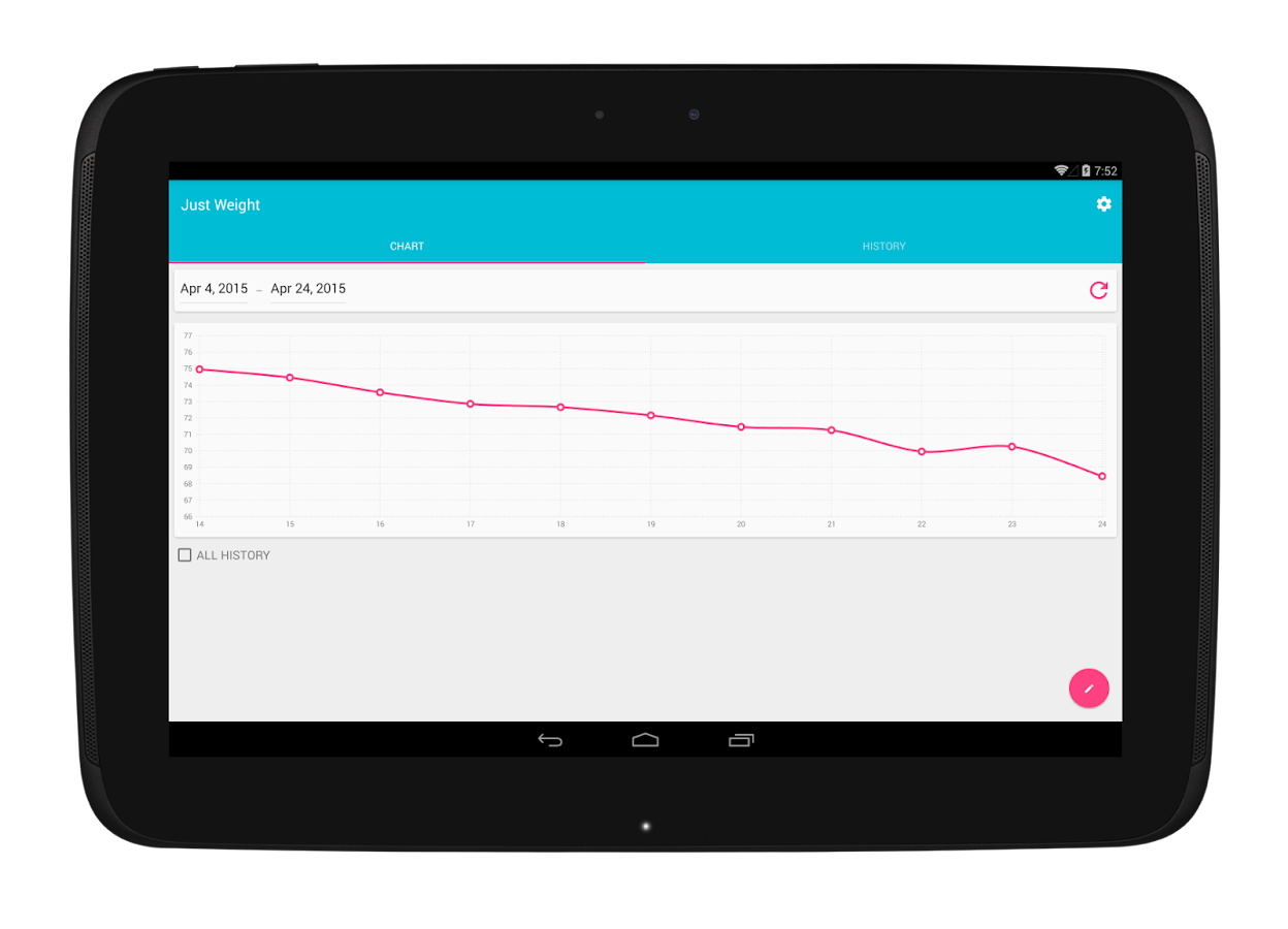 Just weight track your weight android apps on google play just weight track your weight screenshot nvjuhfo Choice Image