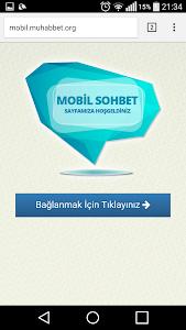 Muhabbet.ORG Chat Sohbet screenshot 0