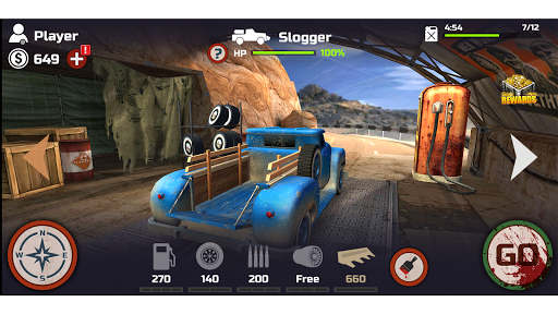 Zombie World - Racing Game - screenshot