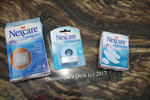 3M Nexcare Sensitive Skin Plasters, Pads and tape