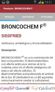PR Vademécum Siegfried screenshot 2