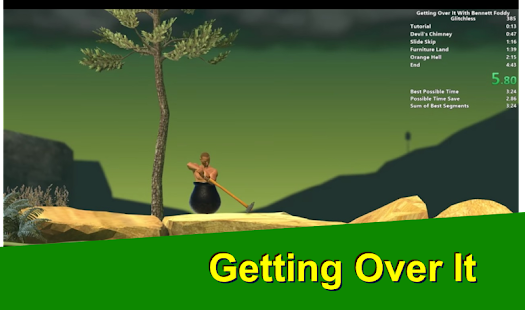 Getting Over It Guide - náhled