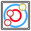 Curling competition icon