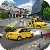 Modern Taxi Driving Simulator 2018 - Driver Game