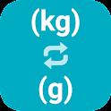 Kilograms to Grams icon