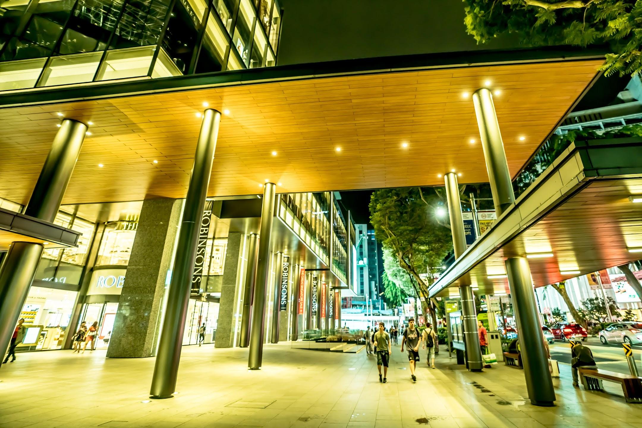 シンガポール Robinsons1