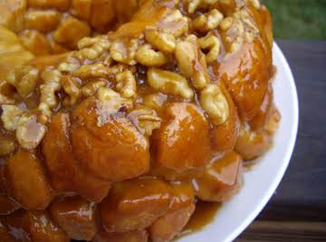 Overnight Pumpkin Spice Monkey Bread