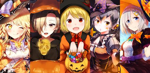 Anime Halloween Wallpaper التطبيقات على Google Play