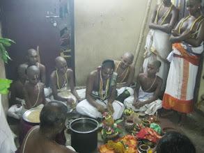 Photo: rakshabandhana punyahavachanam