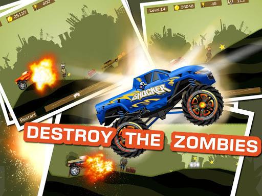 Mad Truck 2 -- physics monster truck hit zombie painmod.com screenshots 10