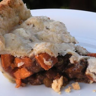 Lamb & Sweet Potato Pot Pie