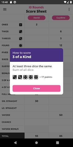 13 Rounds Score Sheet ss2