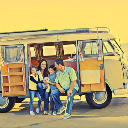 1966 VW Bus Hire CA 92672